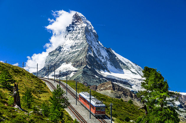Gornergrat, Matterhorn, Switzerland