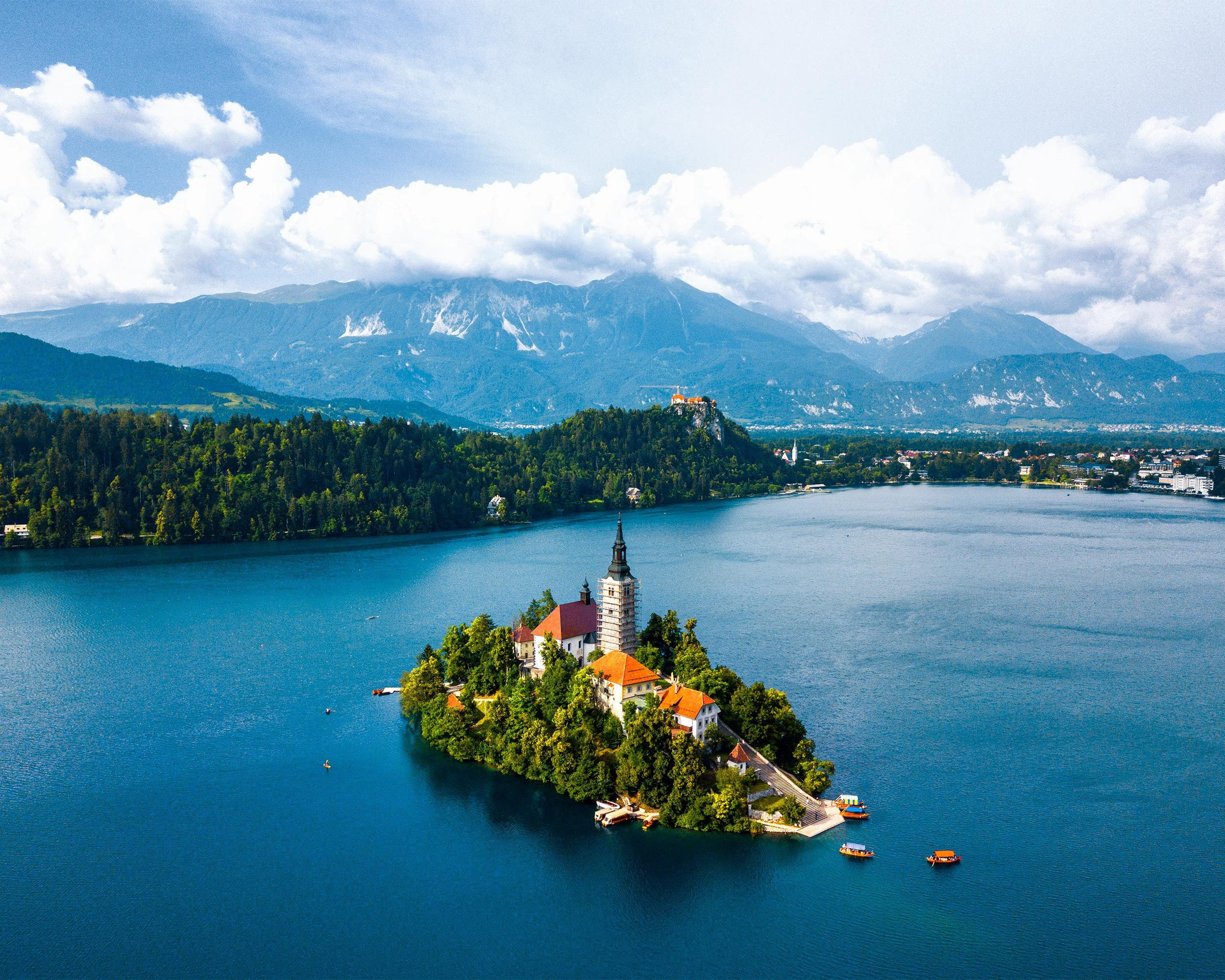 Castle lake bled
